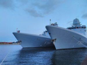 Danish Navy in Port